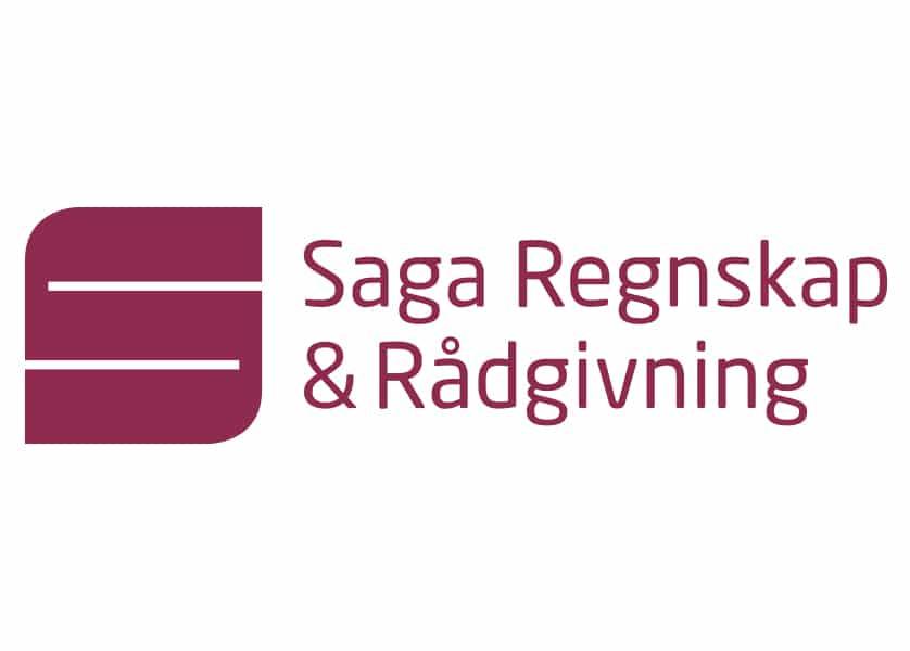 Saga Regnskap & Rådgivning logo